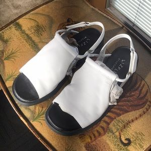 White Liz Claiborne sandals -New